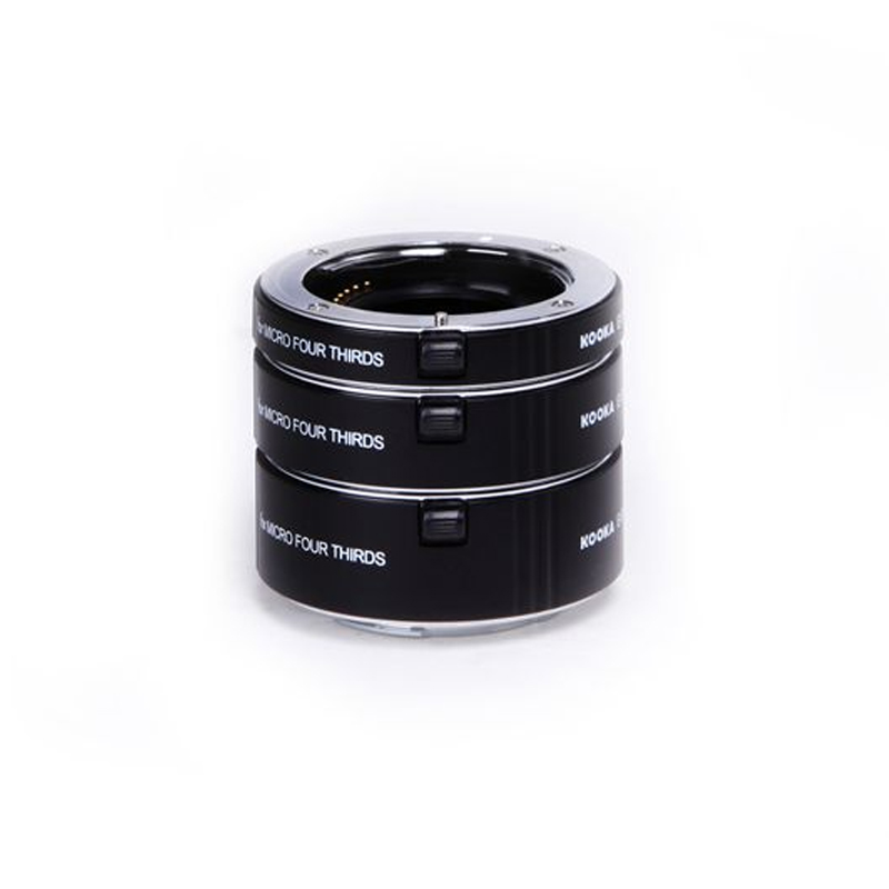 Macro AF Metal Extension Tube Auto Focus TTL Exposure 10mm 16mm 21mm Ring Kit for Olympus Panasonic Micro Four Thirds M4 3 Lens in Lens Adapter from Consumer Electronics