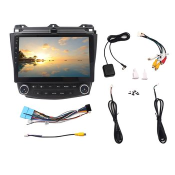 Android Car Gps Multimedia Player Video Radio On Dash 7 Generation 2003-2007 Car Navigation Stereo image
