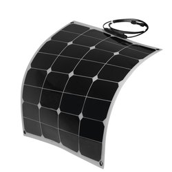 Solar panel mounting system 50w Sunpower flexible solar panel for drone 2pcs