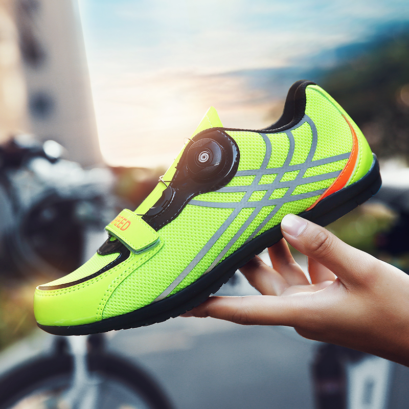 Cycling shoes road sapatilha ciclismo mtb muntain bike athletic bicycle Non-lock cycling men sneakers women breathable shoes