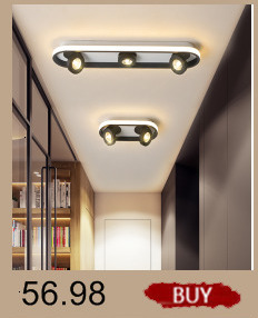 Hdc0111c23c4d413a8f741cec5f8c76ddm Creative modern led ceiling lights living room bedroom study balcony indoor lighting black white aluminum ceiling lamp fixture