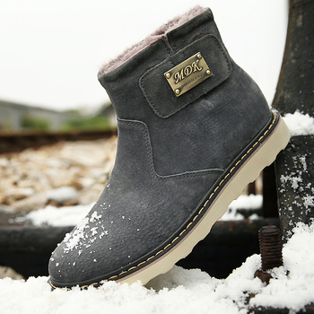 New Autumn and Winter Snow Boots Male Shoes Martin Boots Chelsea Male Boots