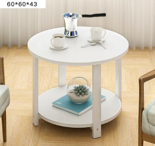 Simple Embly Round Coffee Table With