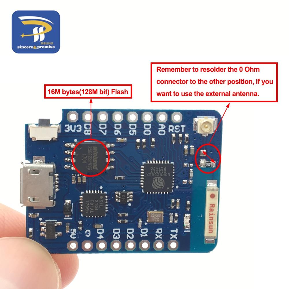 2,4 Ghz WLAN Antenne SMA Pigtail ESP8266 WIFI ESP-07 Wemos D1 Pro Mini NodeMCU