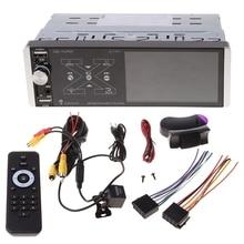 4.1 inch Car Stereo Bluetooth 5.0 FM AI Voice AUX MP5 Player Touch Siri 1 Din Car Radio Mirror Link