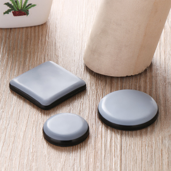 4Pcs Furniture Leg Slider Pads Anti-abrasion Floor Mat Easy Move Heavy Table Sofa Pad Protector Chair Fittings - discount item  30% OFF Furniture Parts
