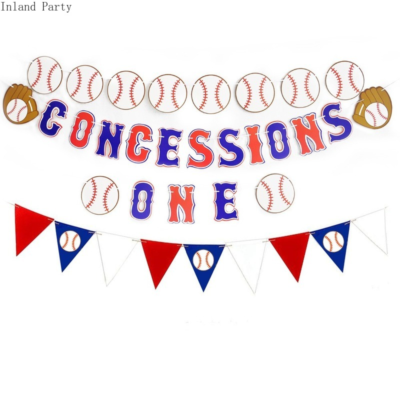 Baseball Party Latex Balloons Happy Birthday Banner Baseball Themed Kids Birthday Decoration Baby Shower Decor Supplies Globos