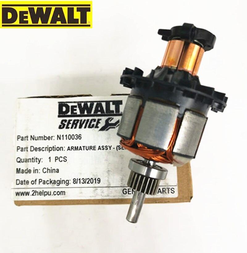 DeWALT DC18V 14.4V Armature Motor For  N110036 N110037 DCD780 DCD780L2 DCD780C2 DCD785 DCD785L N268162 N042178 DCD785C Motor