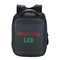 Outdoor LED Backpack Intelligent LED Sport Backpack Fashion Laptop Backpack School Bag Mobile Remote Change Content