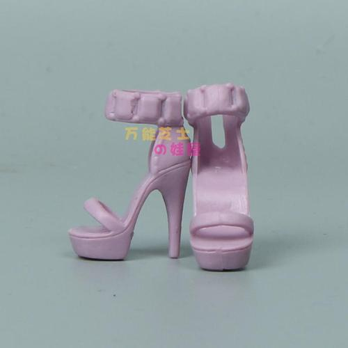 1/6 Doll Accessories Fashion Sneaker Flat Shoes Genuine Sandals Shoeshigh-heeled shoes for Barbie Doll Shoes 12