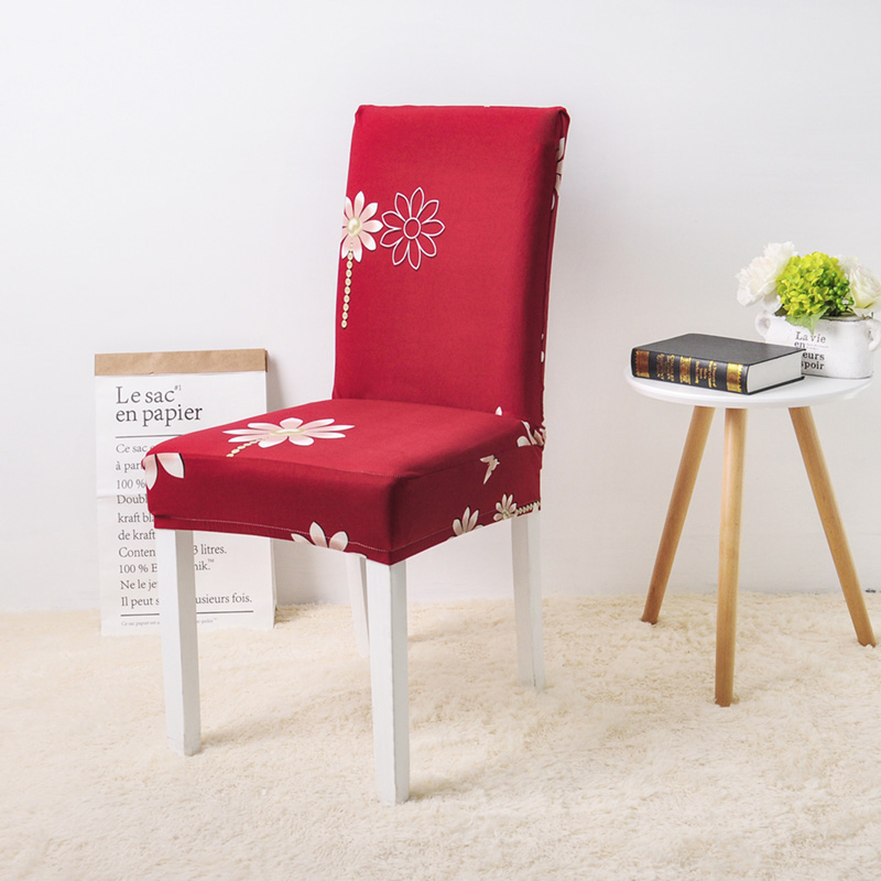 Alizarin Crimson chair cover