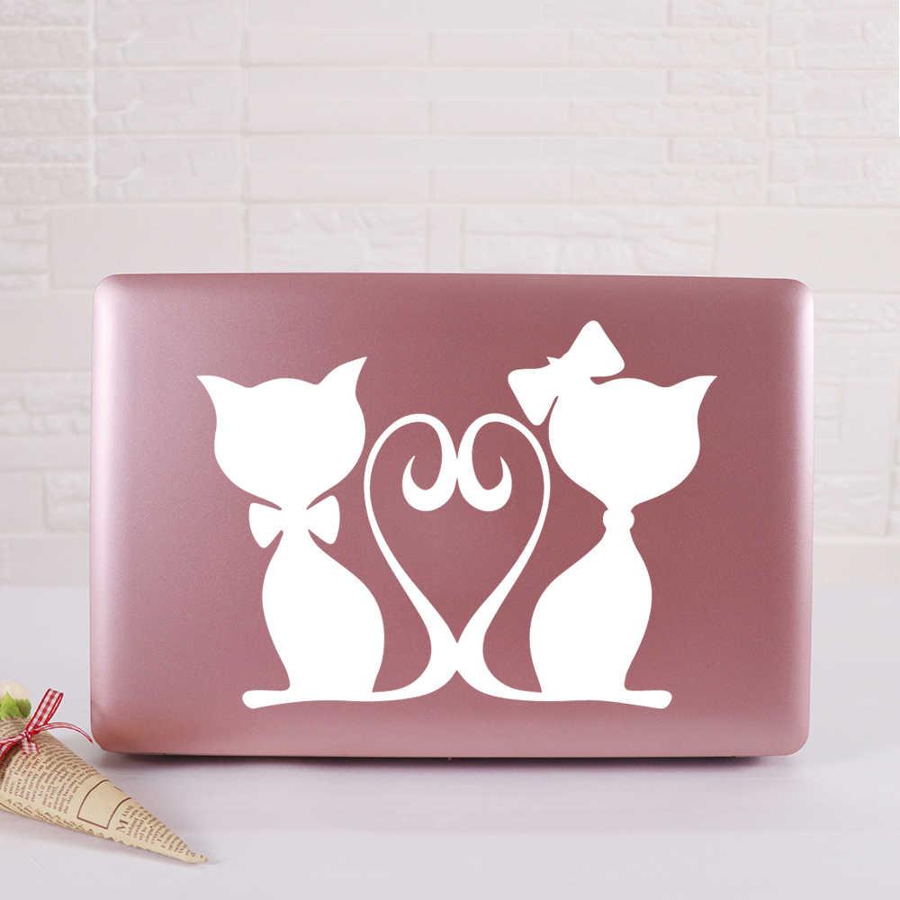 귀여운 고양이 노트북 스티커 비닐 스티커 데 칼 MacBook Air Retina 노트북 스킨 장식 키보드 데칼