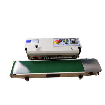 automatic continuous film/aluminum foil bag/ moon cake sealing machine/ food and tea packaging machine/sealing machine FR-770