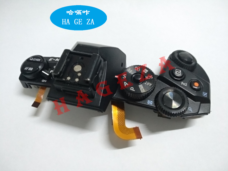 Original For Olympus E-M1 Top Cover Top EM1 Strip Top Case Boot Assembly Turntable Assembly Unit Repair Part