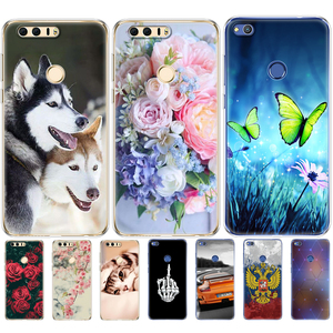 Image 2 - Case For huawei honor 8 silicon honor 8 lite phone cases soft TPU Phone Back cover full 360 Protective shell new design