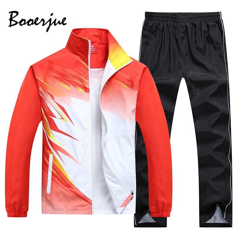 2020 Sportswear Men Sets Training Suit 2 Piece Jacket+Pant Men's Wear Casual Tracksuit Women Sweat Suit Jogger Set Men Clothes