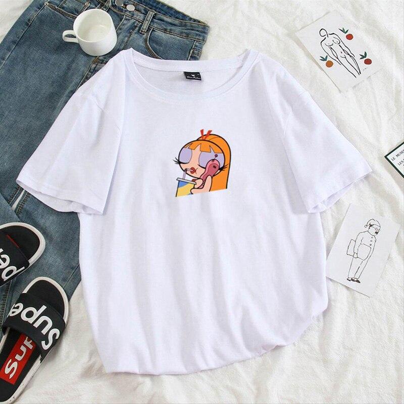 Summer-casual-Women-T-shirts-Ulzzang-Streetwear-kawaii-cartoon-print-Tshirt-Korean-Style-Tops-Harajuku-short (5)