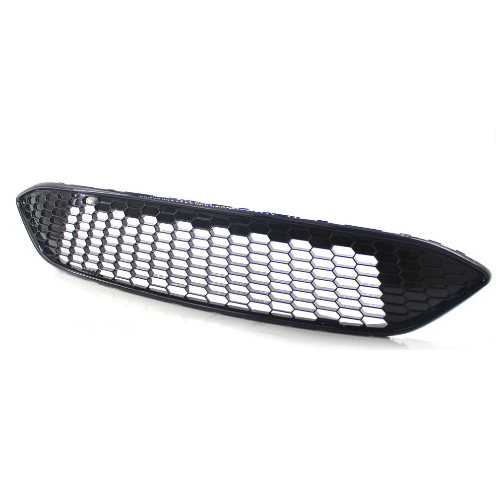 1pcs Black Original material Front Grille Modified for Ford Focus 2015-2017