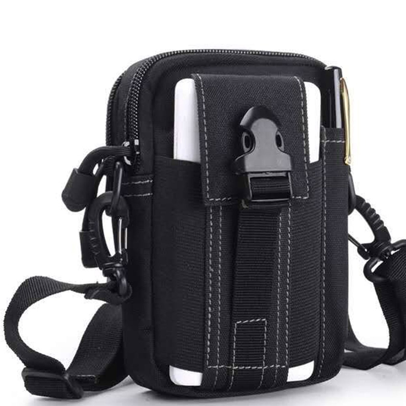 Multi-Purpose Tool Holder With Cell Phone Holster For Sports Hiking Camping Belt Bag Geometric Waist Packs Chest Phone Pouch