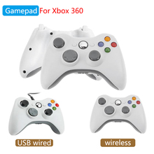 Game Controller for Xbox 360 Wireless USB Wired Gamepad for PC Windows or Xbox 360 Slim Bluetooth Gamepad for Microsoft Xbox 360