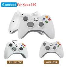 בקר משחק עבור Xbox 360 אלחוטי USB Wired Gamepad עבור מחשב Windows או Xbox 360 Slim Bluetooth Gamepad עבור Microsoft xbox 360