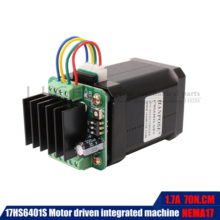 1.7A 17hs6401S NEMA17 Stepper Motor 60MM four wire stepping motor with micro back driver For CNC milling machine