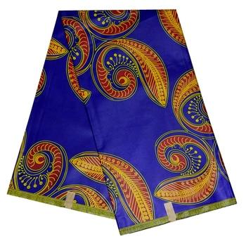 Wholesale 2020 new nigeria Wax Latest African Fabric 6 Yards Real ghana Wax Fabric High Quality Pattern printed 2019 new arrival nigeria ghana 100