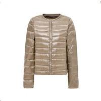 SZMALL Newest Pop Women Wram Jacket Winter Autumn Female Long Sleeve O Neck Top Coat Lady Casual Solid Jackets Clothes