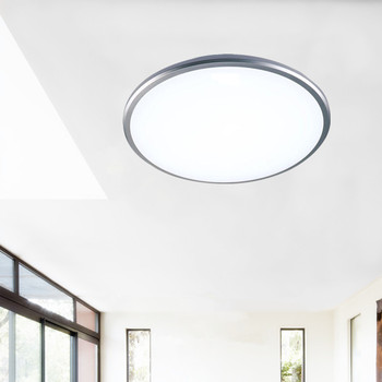 Diameter 50cm circula Ceiling lights LED lamp body ABS material casting molding seal dustproof hard PVC plate indoor LED lights