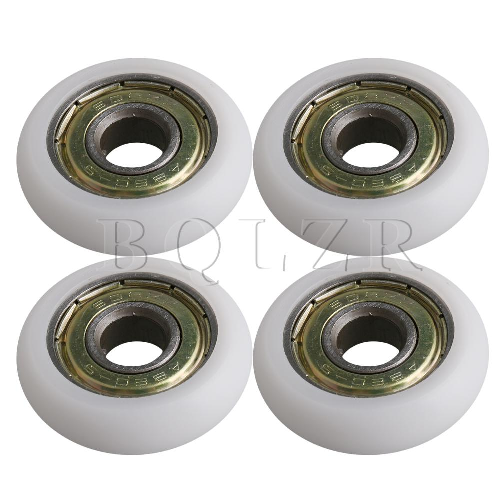 4Pieces 626ZZ D4.0xd0.8xT2.0cm Guide Sealed Pulley Ball Bearing Wheel