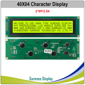 Image 2 - 404 40X4 4004 Character LCD Module Display Screen LCM Yellow Green Blue with LED Backlight Build in SPLC780D Controller