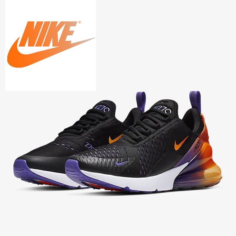Original authentique Nike Air Max 270 chaussures de course pour hommes chaussures de sport respirantes chaussures de sport de plein Air mode nouveau CN7077-081