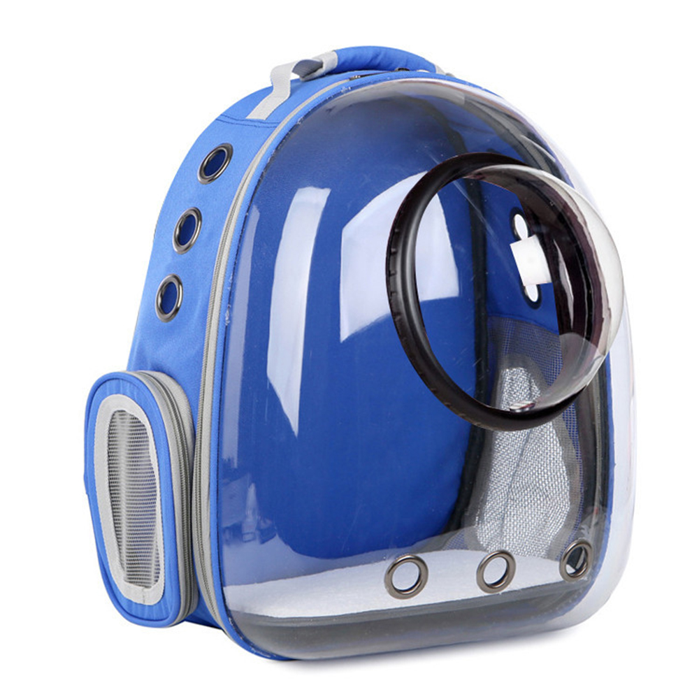Astronaut Window Bubble Carrying Travel Bag Breathable Space Capsule Transparent Pet Carrier Bag Dog Cat Backpack