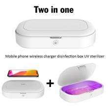 Portable Uv Phone Sterilizer Box 10W Qi Wireless Charging Personal Sanitizer Disinfection Cabinet Cleaner uv sterilizer box
