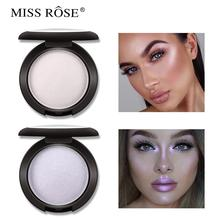 Natural Highlight powder Face Powder Mineral Foundations Oil-control Brighten Concealer Whitening Make Up Pressed Powder Puff