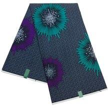 Последняя африканская полиэфирная ткань для печати Новая высококачественная настоящая Датская восковая ткань для свадебного платья