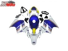 ABS Fairing Kit For Honda VFR800 2002-2012 Motorcycle Injection ABS plastic Fairings VFR800 02-12 Gloss Blue Bodyworks цены
