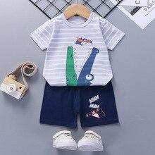 Neueste Sommer Baby Jungen Kleidung Krokodil Marke Tücher Kinder Kleinkind Kostüme Outfits Für Sommer Kinder Tragen Kleidung Jungen