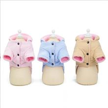 Winter Warm Dog Clothes Hoodies for Dogs Coat Jackets Fleece Clothing For Dogs  clothes
