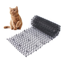 Garden Cat Scat Mats Anti-Cat Dogs Repellent Mat Prickle Strips Keep Cats Away Safe Plastic Spike Thorn Network Pets scat cats page 3