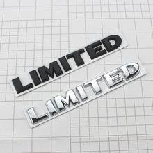 3d chrome adesivos de carro 4x4 limitada cauda emblema emblema decalques do corpo do carro adesivo para jeep grand cherokee wrangler ford estilo do carro