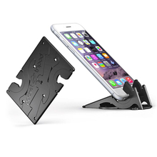 Adjustable Portable Mini Mobile Phone Holder Foldable Stabilize Rotation Pocket Tripod Universal Card Type Stable Desk Stand