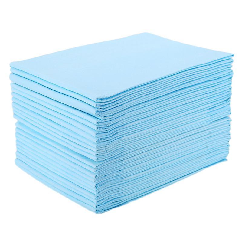 30pcs Newborn Babies Waterproof Breathable Disposable Underpad Diaper Care Protector Bed Chair Pad Incontinence Protector