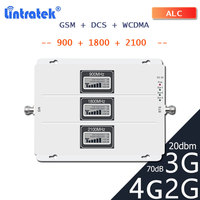 lintratek LTE 2G 3G 4G Signal Booster GSM 900 1800 2100 WCDMA Cellular signal reprater DCS LTE 4G Mobile cellphone 3G amplifier