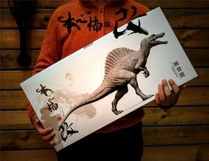 Image 4 - Stokta var! Nanmu stüdyo 1/35 ölçekli Spinosaurus Supplanter Jurassic gerçekçi dinozor aksiyon figürü PVC Model oyuncaklar toplayıcı