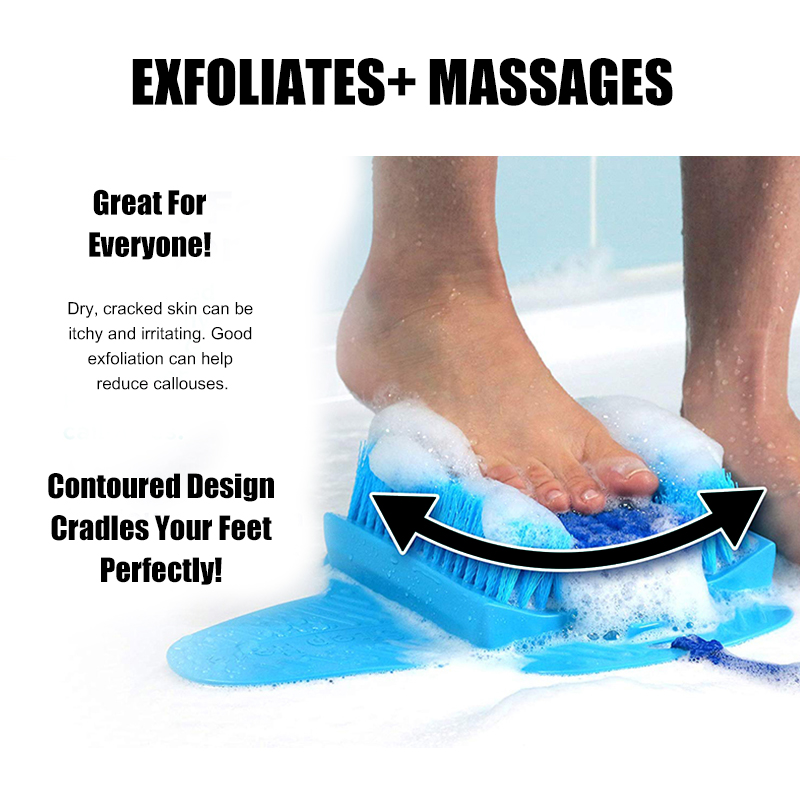 Pumice Stone Foot Scrubber For Exfoliating Foot Massage Product Skin Care Accessory With Foot Stone Suction Cup