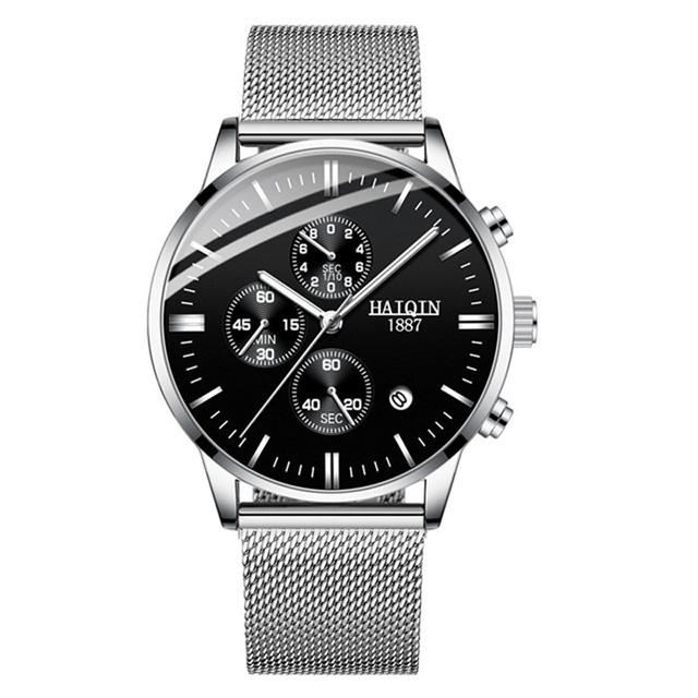 HAIQIN 8704 Business Quartz Watch