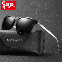SAYLAYO Polarized Sunglasses Women Cool Vintage Male Brand Designer Sun Glasses Goggles Shades for Men