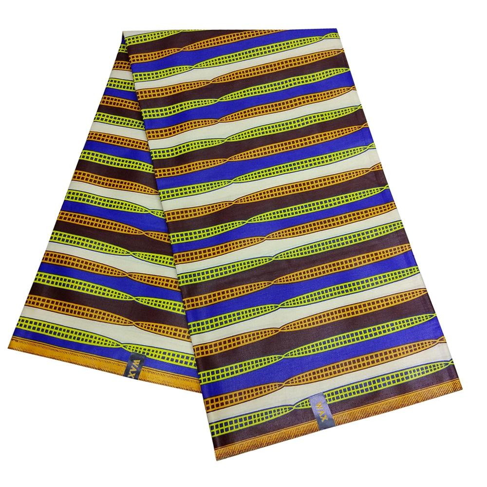 Nigeria Wax Dutch Fabric African Wax Clothes Material Make Clothing