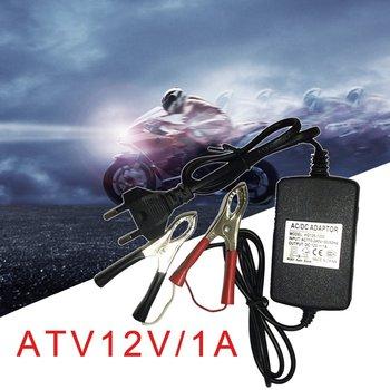 Универсальный портативный многомодовый перезаряжаемый аккумулятор постоянного тока 12 В/1 А 15 Вт для авто, мотоцикла, квадроцикла